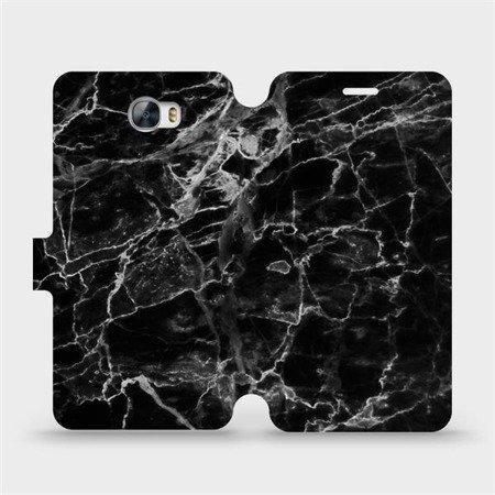 Flipové pouzdro Mobiwear na mobil Huawei Y5 II - V056P Černý mramor