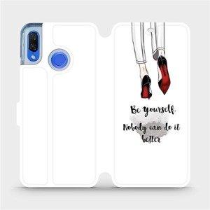 Flipové pouzdro Mobiwear na mobil Huawei Nova 3 - M046P Be yourself
