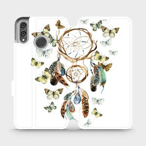 Flipové pouzdro Mobiwear na mobil Honor 8X - M001P Lapač a motýlci
