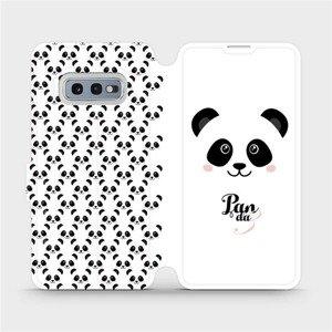 Flipové pouzdro Mobiwear na mobil Samsung Galaxy S10e - M030P Panda Amálka