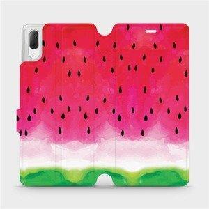 Flipové pouzdro Mobiwear na mobil Sony Xperia L3 - V086S Melounek