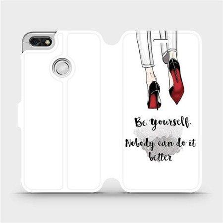 Flipové pouzdro Mobiwear na mobil Huawei P9 Lite mini - M046P Be yourself