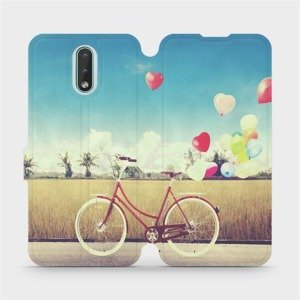Flipové pouzdro Mobiwear na mobil Nokia 2.3 - M133P Kolo a balónky