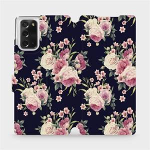 Flipové pouzdro Mobiwear na mobil Samsung Galaxy Note 20 - V068P Růžičky