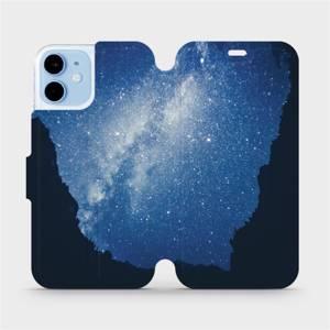 Flipové pouzdro Mobiwear na mobil Apple iPhone 12 mini - M146P Galaxie