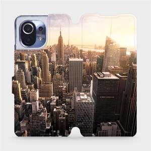 Flipové pouzdro Mobiwear na mobil Xiaomi Mi 11 - M138P New York