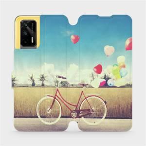 Flipové pouzdro Mobiwear na mobil Realme GT 5G - M133P Kolo a balónky