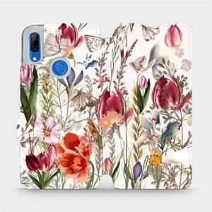 Flip pouzdro Mobiwear na mobil Huawei P Smart Z - MP01S Rozkvetlá louka