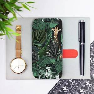 Flip pouzdro Mobiwear na mobil Samsung Galaxy M21 - VP06P Žirafky