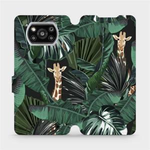 Flip pouzdro Mobiwear na mobil Xiaomi POCO X3 NFC - VP06P Žirafky