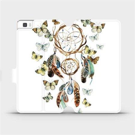 Flipové pouzdro Mobiwear na mobil Huawei P8 Lite - M001P Lapač a motýlci