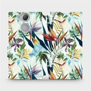 Flipové pouzdro Mobiwear na mobil Sony Xperia XA2 - M071P Flóra