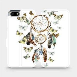 Flipové pouzdro Mobiwear na mobil Honor 7S - M001P Lapač a motýlci