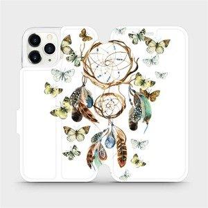 Flipové pouzdro Mobiwear na mobil Apple iPhone 11 Pro - M001P Lapač a motýlci