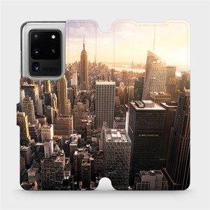 Flipové pouzdro Mobiwear na mobil Samsung Galaxy S20 Ultra - M138P New York