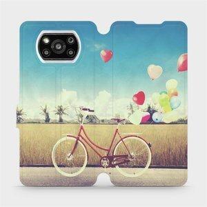 Flipové pouzdro Mobiwear na mobil Xiaomi Poco X3 Pro - M133P Kolo a balónky