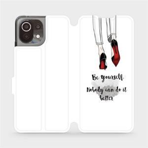 Flip pouzdro Mobiwear na mobil Xiaomi 11 Lite 5G NE - M046P Be yourself
