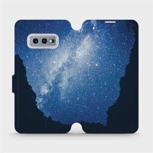 Flipové pouzdro Mobiwear na mobil Samsung Galaxy S10e - M146P Galaxie