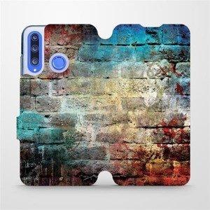 Flipové pouzdro Mobiwear na mobil Honor 20 Lite - V061P Zeď