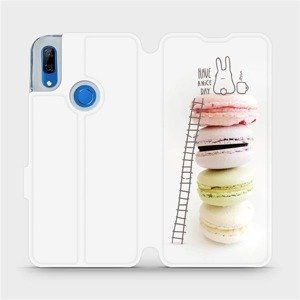 Flipové pouzdro Mobiwear na mobil Huawei P Smart Z - M090P Makronky - have a nice day