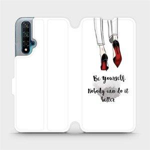 Flipové pouzdro Mobiwear na mobil Huawei Nova 5T - M046P Be yourself