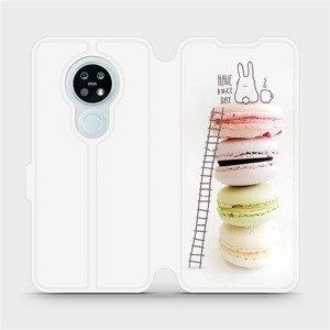 Flipové pouzdro Mobiwear na mobil Nokia 6.2 - M090P Makronky - have a nice day