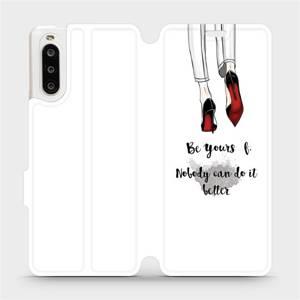Flipové pouzdro Mobiwear na mobil Sony Xperia 10 II - M046P Be yourself