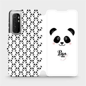 Flipové pouzdro Mobiwear na mobil Xiaomi Mi Note 10 Lite - M030P Panda Amálka