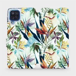 Flipové pouzdro Mobiwear na mobil Samsung Galaxy M12 - M071P Flóra
