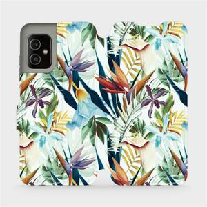 Flip pouzdro Mobiwear na mobil Asus Zenfone 8 - M071P Flóra