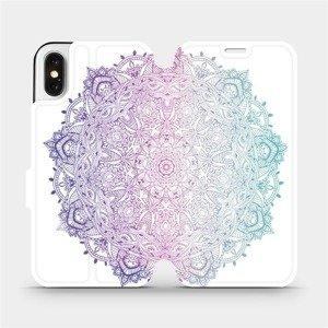 Flipové pouzdro Mobiwear na mobil Apple iPhone X - M008S Mandala
