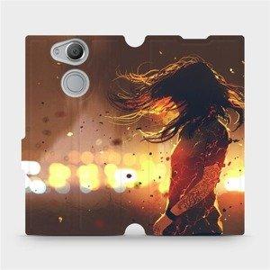 Flipové pouzdro Mobiwear na mobil Sony Xperia XA2 - MA02S Tetovaná dívka