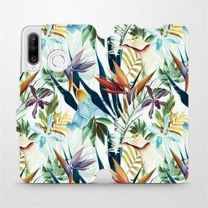 Flipové pouzdro Mobiwear na mobil Huawei P30 Lite - M071P Flóra