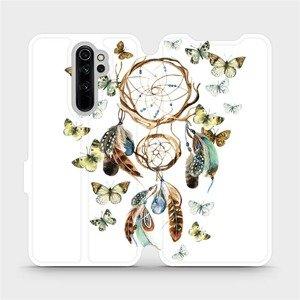Flipové pouzdro Mobiwear na mobil Xiaomi Redmi Note 8 Pro - M001P Lapač a motýlci