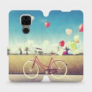 Flipové pouzdro Mobiwear na mobil Xiaomi Redmi Note 9 - M133P Kolo a balónky