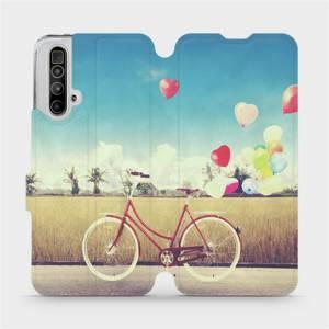 Flipové pouzdro Mobiwear na mobil Realme X3 SuperZoom - M133P Kolo a balónky