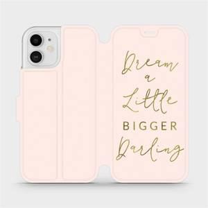 Flipové pouzdro Mobiwear na mobil Apple iPhone 12 - M014S Dream a little