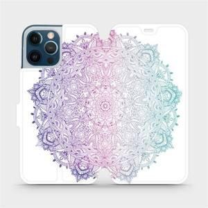 Flipové pouzdro Mobiwear na mobil Apple iPhone 12 Pro Max - M008S Mandala
