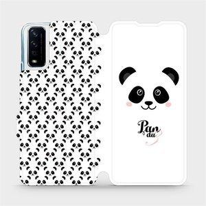 Flipové pouzdro Mobiwear na mobil Vivo Y11S - M030P Panda Amálka