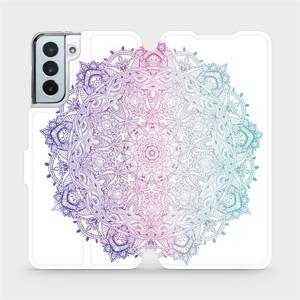 Flipové pouzdro Mobiwear na mobil Samsung Galaxy S21 Plus 5G - M008S Mandala