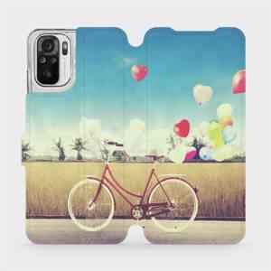 Flipové pouzdro Mobiwear na mobil Xiaomi Redmi Note 10 - M133P Kolo a balónky