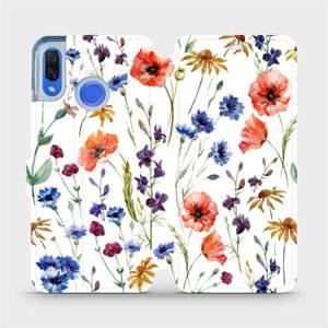 Flip pouzdro Mobiwear na mobil Huawei Nova 3 - MP04S Luční kvítí