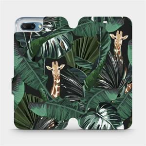 Flip pouzdro Mobiwear na mobil Honor 10 - VP06P Žirafky