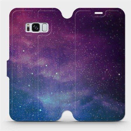 Flipové pouzdro Mobiwear na mobil Samsung Galaxy S8 - V147P Mlhovina