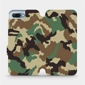 Flipové pouzdro Mobiwear na mobil Honor 10 - V111P Maskáče