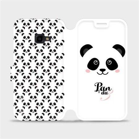Flipové pouzdro Mobiwear na mobil Samsung Xcover 4 - M030P Panda Amálka