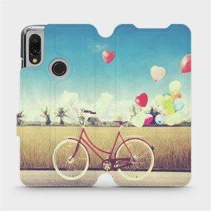 Flipové pouzdro Mobiwear na mobil Xiaomi Redmi 7 - M133P Kolo a balónky