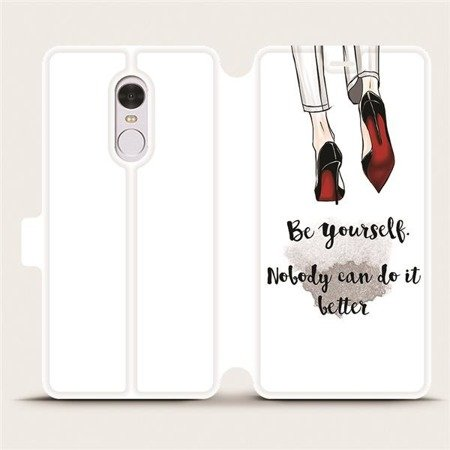 Flipové pouzdro Mobiwear na mobil Xiaomi Redmi Note 4 Global - M046P Be yourself