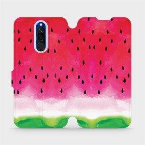 Flipové pouzdro Mobiwear na mobil Xiaomi Redmi 8 - V086S Melounek