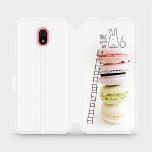 Flipové pouzdro Mobiwear na mobil Xiaomi Redmi 8a - M090P Makronky - have a nice day